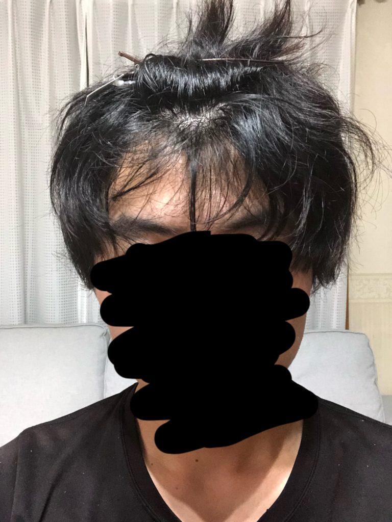 前髪 を ストレート に する 方法